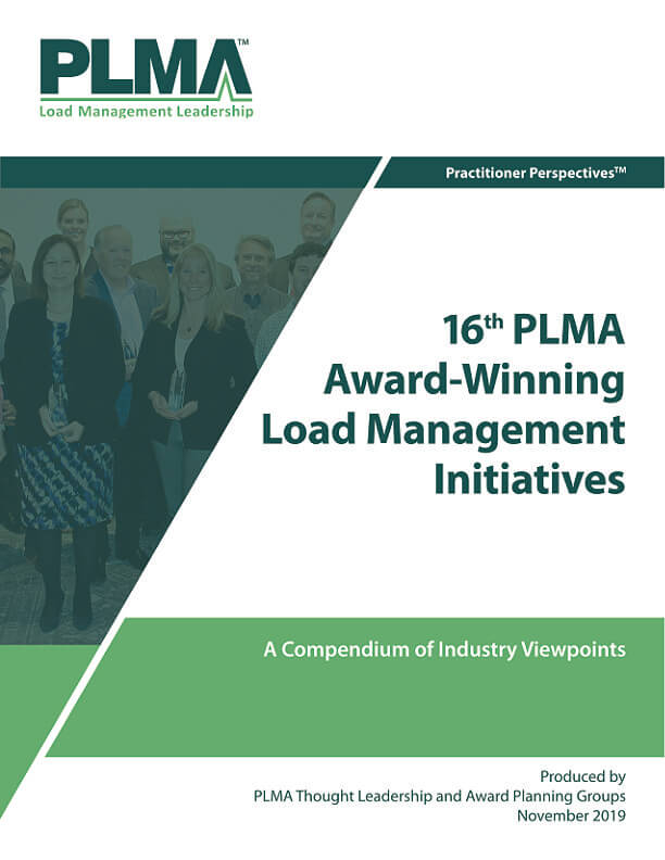 16th PLMA Award-Winning Load Management Initiatives