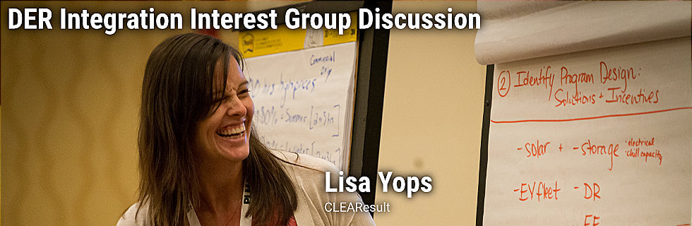 DER Integration Interest Group Discussion